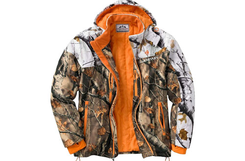 Legendary Whitetails Timber Line Insulated Softshell Camo Jacket