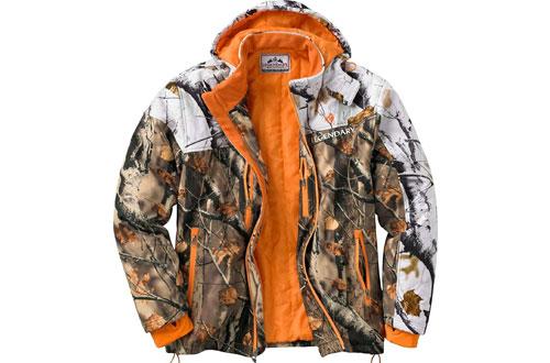 Legendary Whitetails Timber Line Insulated Softshell Camo Jacket