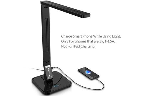 FugetekFT-L798Touch Control PanelLED Desk Lamp -5V/1A USB