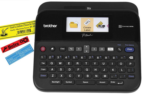 Brother P-touch Color Label Maker - PC-Connectable Labeler PTD600