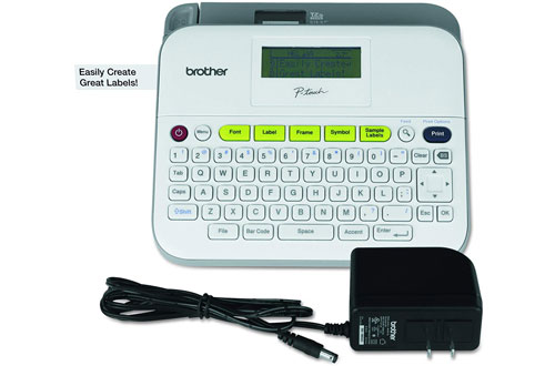 Brother P-touch Label Maker - PTD400AD & Multiple Line Labeling