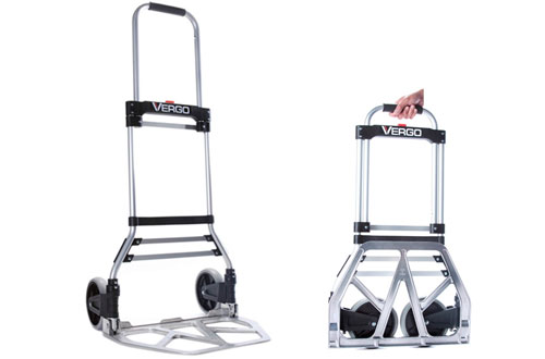 Vergo S300BT Model Industrial Convertible Hand Truck Dolly - 275 lb Capacity
