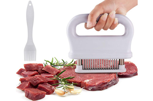 Yopin 48-Needle Blade Meat Tenderizer for Kitchen Outdoor Barbecue