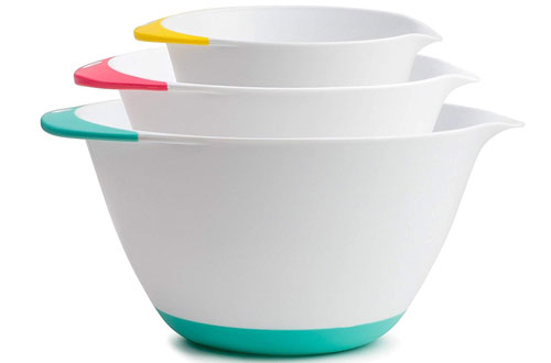 KUKPO Glass Mixing Bowl Set
