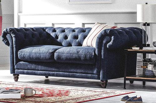Stone & BeamBradbury Chesterfield Tufted Modern Sofa