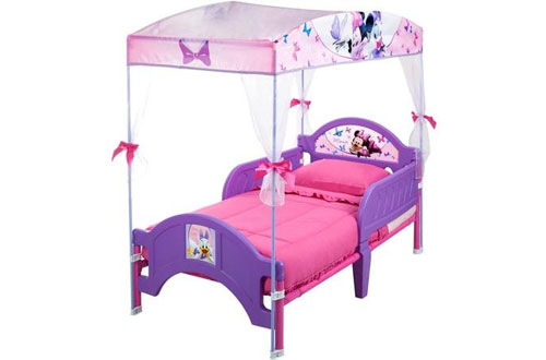 Disney Delta Minnie's Bow-Tique Lavender Canopy Toddler Bed