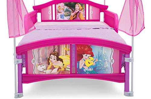 Delta Children Disney Princess Canopy Toddler Bed