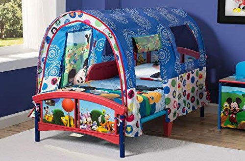 Delta Children Disney Mickey Mouse Toddler Tent Bed