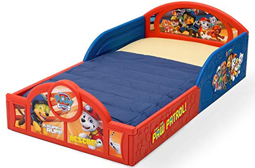 Nick Jr. PAW Patrol Sleep & Play Toddler Bed with Guardrails
