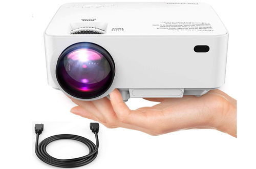 DBPOWER Full HD LED Home Theater Video Smartphone Projector