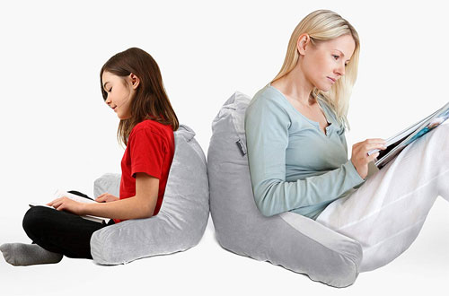 Milliard Backrest Reading Pillow for Books or Gaming