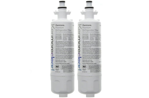 Kenmore 9690 Clear Refrigerator Water Filter - 2-Pack