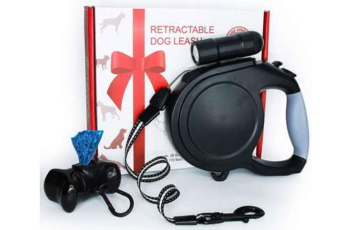 Dominator Extra Long 26 ft Medium Rechargeable Dog Leash for Walking