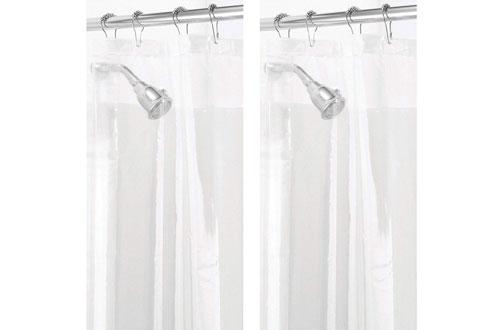 mDesignWaterproof Bathroom Shower Curtain Liner