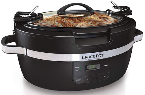 Crockpot SCCPCT600-B 6-Quart Thermoshield Slow Cooker