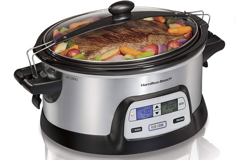 Hamilton Beach Programmable Slow Cooker with Dual Digital Timer