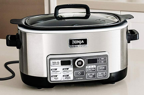 Ninja Auto-iQ Multi-Slow Cooker with Auto-iQ Recipes for Searing & Slow Cooking