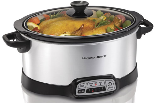 Hamilton Beach Slow Cooker Crock with TouchPad