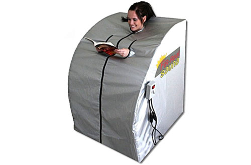 FIR-Real Portable Large Far Infrared Sauna with 2-Ceramic Heaters