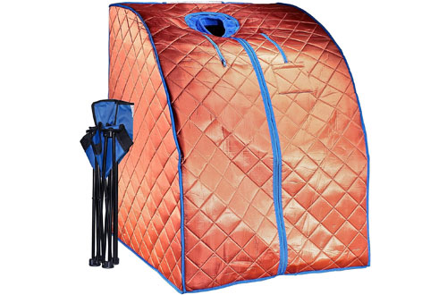 DurhermLarg Infrared Sauna - Low EMF Negative Ion Indoor Sauna