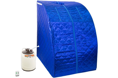 WYZworks Portable Therapeutic Home Steam Sauna Spa Room