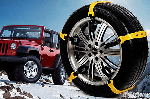 Besteamer Car TireSnow Chains for Truck and SUV