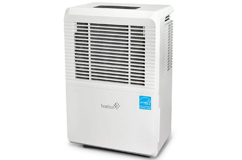 Ivation 70-Pint Energy Star Safe Dehumidifier