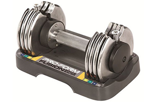 ProForm 25-lb. Single Adjustable Dumbbell