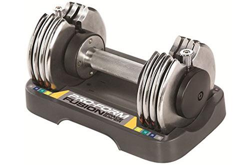 ProForm 25-lb. Single Adjustable Dumbbell