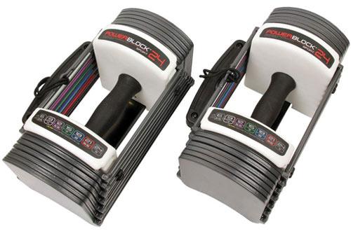 Power Block GF-SPDBLK24 Adjustable Dumbbells 24lb