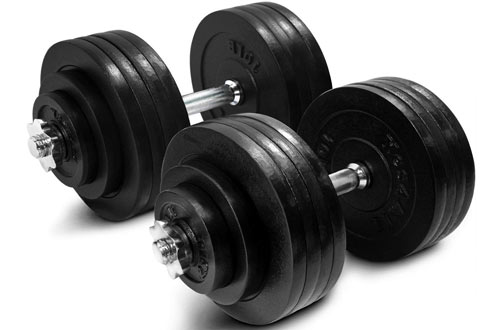 Yes4All Adjustable Dumbbells 40, 50, 52.5, 60, 105 to 200 lbs