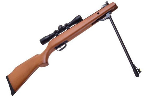 National Standard Products Break Barrel Air Rifle with Scope - 200 Free Pellets