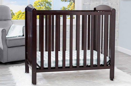 Delta Children 4 in 1 Baby Crib with Toddler Mattress