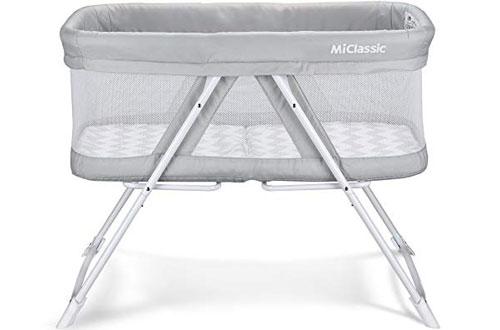 MiClassic Portable Newborn Baby Crib
