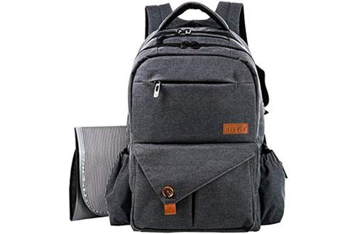 HapTim Multi-function Large Baby Diaper Bag Backpack