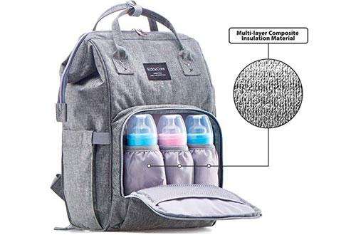 KiddyCare LargeDurable and StylishBackpackDiaper Bag for Baby