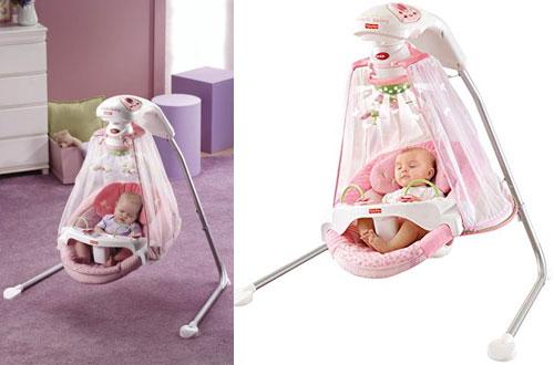 Fisher Price Cradle Outdoor Baby Swing -Butterfly Garden