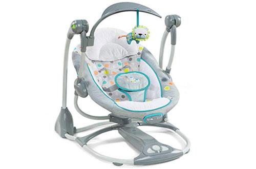 Ingenuity Portable Baby Swing -ConvertMe Swing-2-Seat