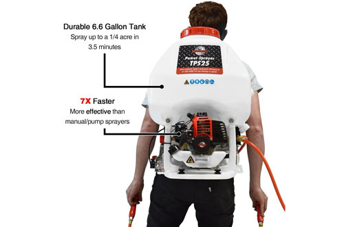 Tomahawk PowerGas Powered Backpack Sprayer for Mosquitoes and Ticks