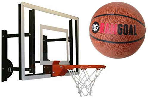 RAMgoal Durable Indoor Mini Basketball Hoop with Ball