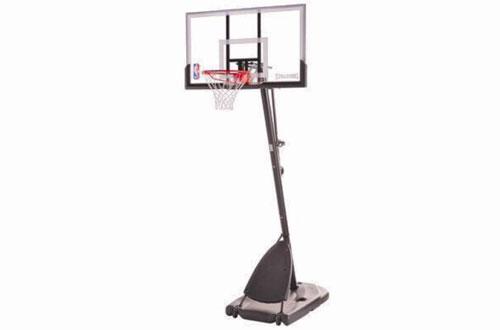 Spalding Portable Pole Backboard Basketball Hoop