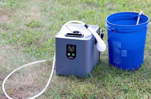 Hike Crew Portable Hot Water Heater & Shower Pump for Camping