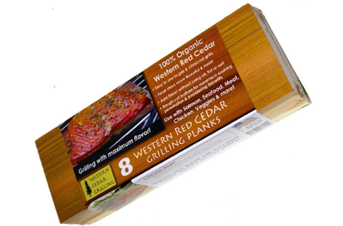 Western Cedar Grilling Planks  for SALMON, FISH, STEAK, VEGGIES and more