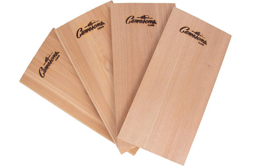 Wood Grilling Planks for Barbecue Salmon, Seafood, Steak  and More