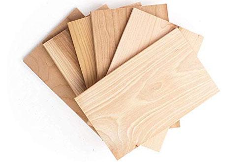 Wildwood Grilling SmallCedarGrilling Planks Sampler - 6-Flavor Packs