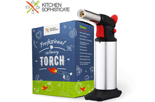 Kitchen Sophisticate Professional Culinary Cooking Torch Tool