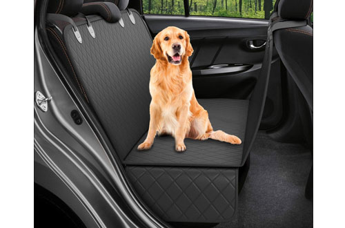 Dog Back Seat Cover Protector Hammock for Dogs Backseat