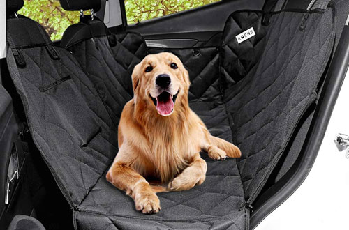 KQRNS Heavy Duty Dog Hammock Car Seat Cover for Back Seat