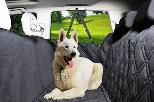 Meadowlark Waterproof Pet Seat Cover for Cars