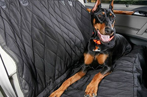 4Knines USA Based Dog Seat Cover for Cars, Trucks and SUVs with Hammock